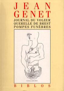 LE-JOURNAL-D-039-UN-JOUEUR-QUERELLE-DE-BREST-POMPES-FUNEBRES-JEAN-GENET
