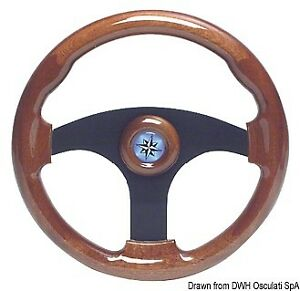à Condition De Volante Mogano 3 Razze 355 Mm   Marca Osculati   45.158.07