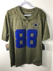 Nike Dallas Cowboys Dez Bryant  88 Limited Salute To Service Jersey ... a47c9b4f8
