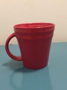 Image Is Loading Rachael Ray Double Ridge Coffee Cup Mug Red