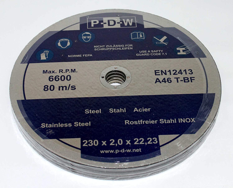 20 Trennscheiben INOX INOX INOX Metall 230x2,0x22,23 mm Metalltrennscheibe Stahl Edelstahl | Online-Shop  | Große Ausverkauf  | Modisch  024a76