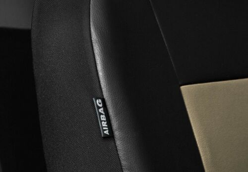 Car seat covers fit Suzuki Ignis black//beige  leatherette full set