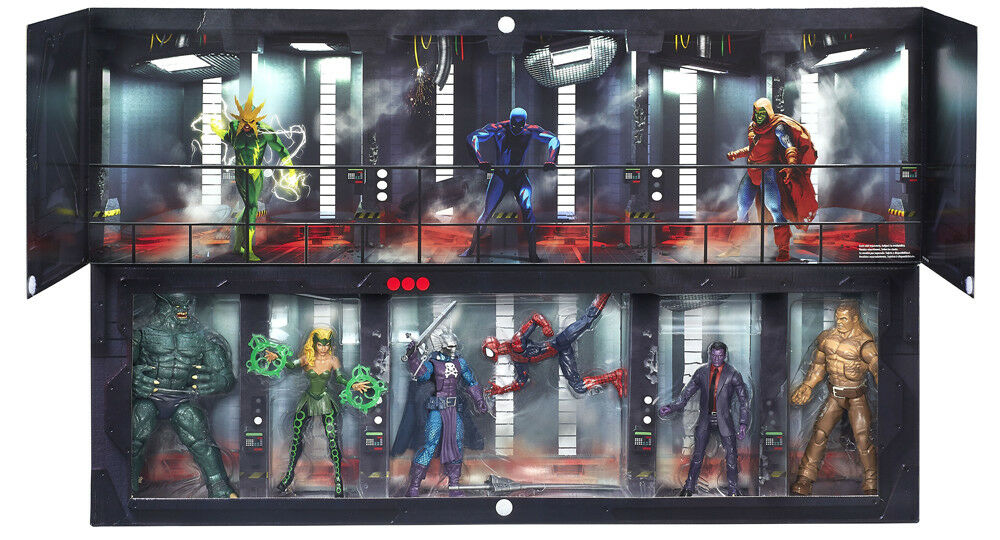 Hasbro SDCC 2016 Marvel Legends The Raft Boxset Exclusive Action Figure NEW USA