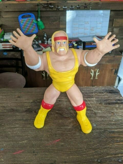 Rare International Wrestling Championship Giants 10  Hulk Hogan KO Stiefelleg