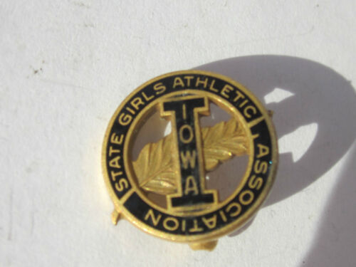 Nice Iowa State Girls Athletic Association Pin