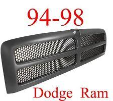 94 98 01 DODGE RAM Truck BLACK GRILL NEW, 1500, 2500, 3500, CH1200188