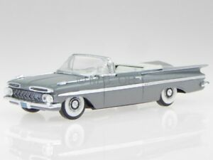 Chevrolet Impala convertible 1959 grey diecast model car Vitesse 1/43
