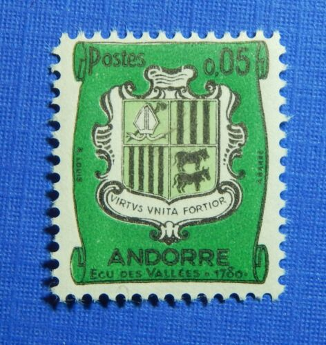 1961 ANDORRA FRENCH 5c SCOTT# 143 MICHEL # 164 UNUSED CS28167