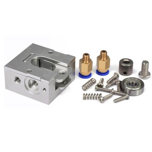 Fits Reprap Bulldog All-metal Extruder Kit For 1.75//3mm J-head E3D 3D Printer