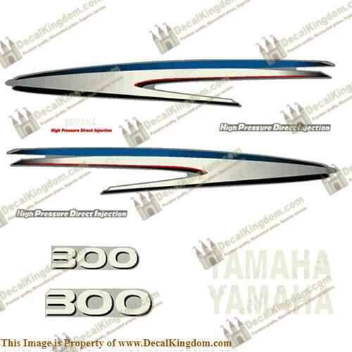 Kit de calcomanías Yamaha 300hp Hpdi