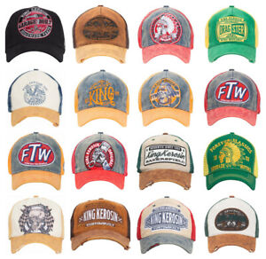 FTW Embroidered hat Adjustable cotton Baseball Cap Vintage cap