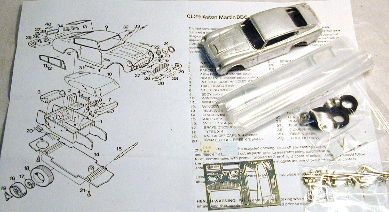 1 43 CL29K ASTON MARTIN DB6 KIT BY SMTS