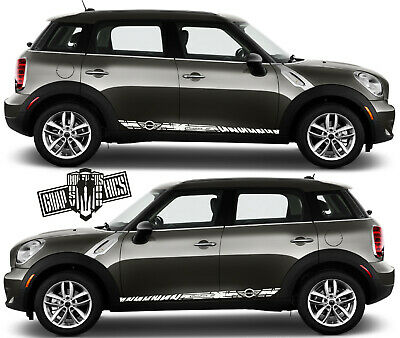 Graphic Sticker Decal Kit For Mini Cooper Countryman Clubman Paceman John Cooper