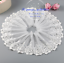 1-Yard-Embroidered-Floral-White-Tulle-Lace-Trim-Ribbon-Fabric-Sewing-Craft-FL256 thumbnail 1