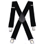Mens 50MM Wide Heavy Duty Adjustable Elasticated Motorcycle Trouser X Shape Susp