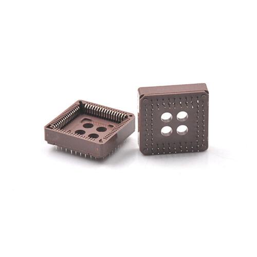 10pcs PLCC68 68 Pin 68Pin DIP IC Socket Adapter PLCC Converter In /'UK