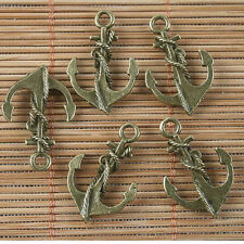 10pcs Antique Bronze Color Masque Design Charms EF3508