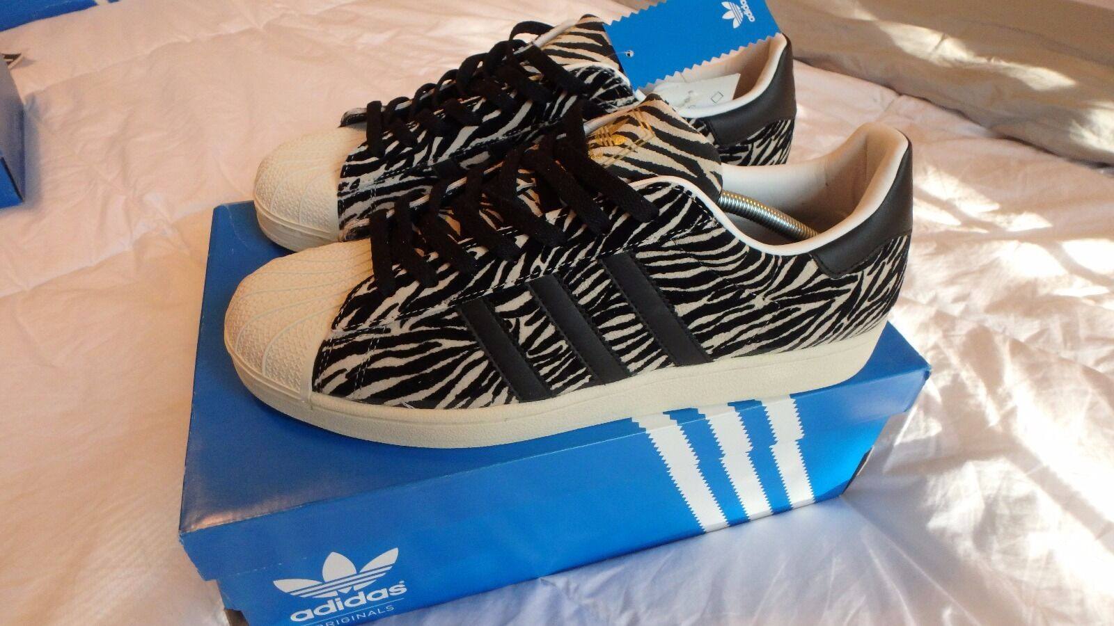 Adidas Superstar FA SS YNG Animal Pack Size 12 Art G28087 Date 07/12