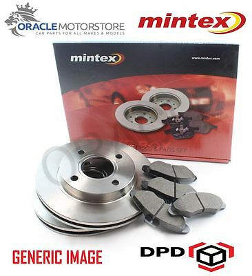 Brake Discs 260mm Vented Fits Vauxhall Combo Tour 1.7 DTI 16V Front Brake Pads