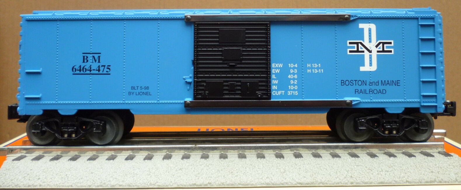 Lionel 6-29211 Boston & Maine 6464 Boxcar