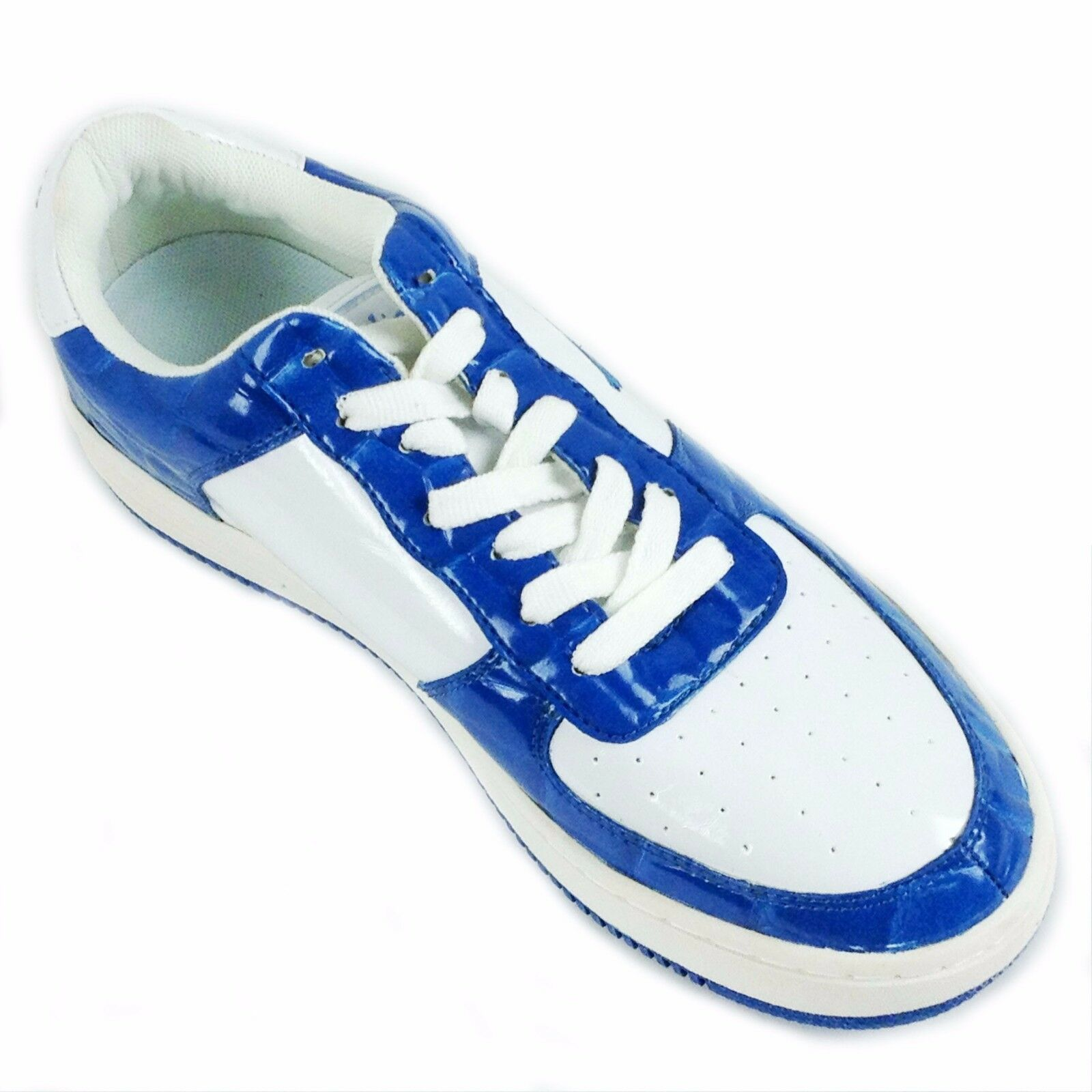 Slicks, 1688-72 DK. BLUE-WHITE MEN'S ATHLETIC SHOES