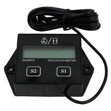 Digital Tach Hour Meter Tachometer Gauge for Dirt bike  ATV with 2 or 4 stroke
