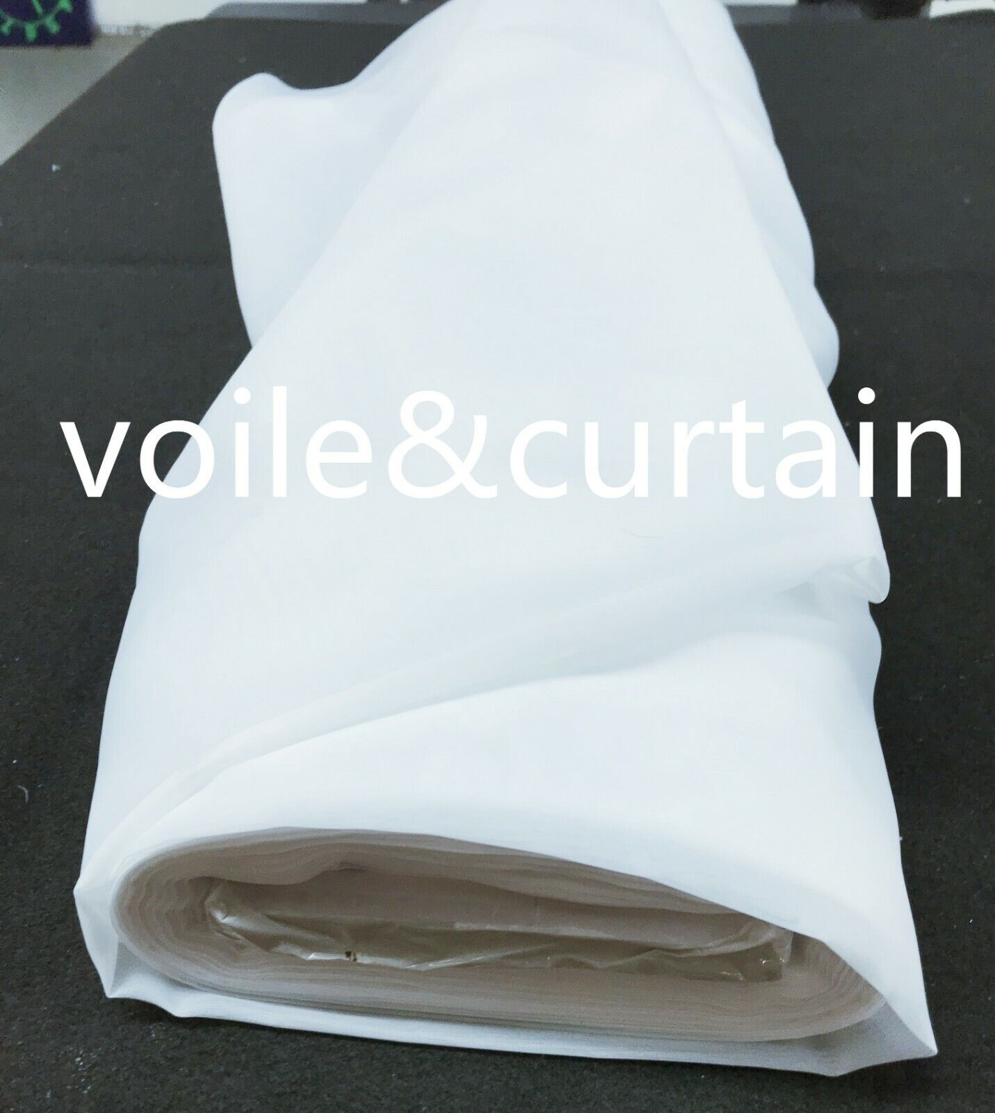 Voile fabric whole roll 3 Farbes 300CM (118 ) wide super quality wedding drapes