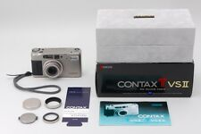 Contax TVS II 35mm Point & Shoot Film Camera 28-56mm F/3.5-6.5 T Lens Boxed