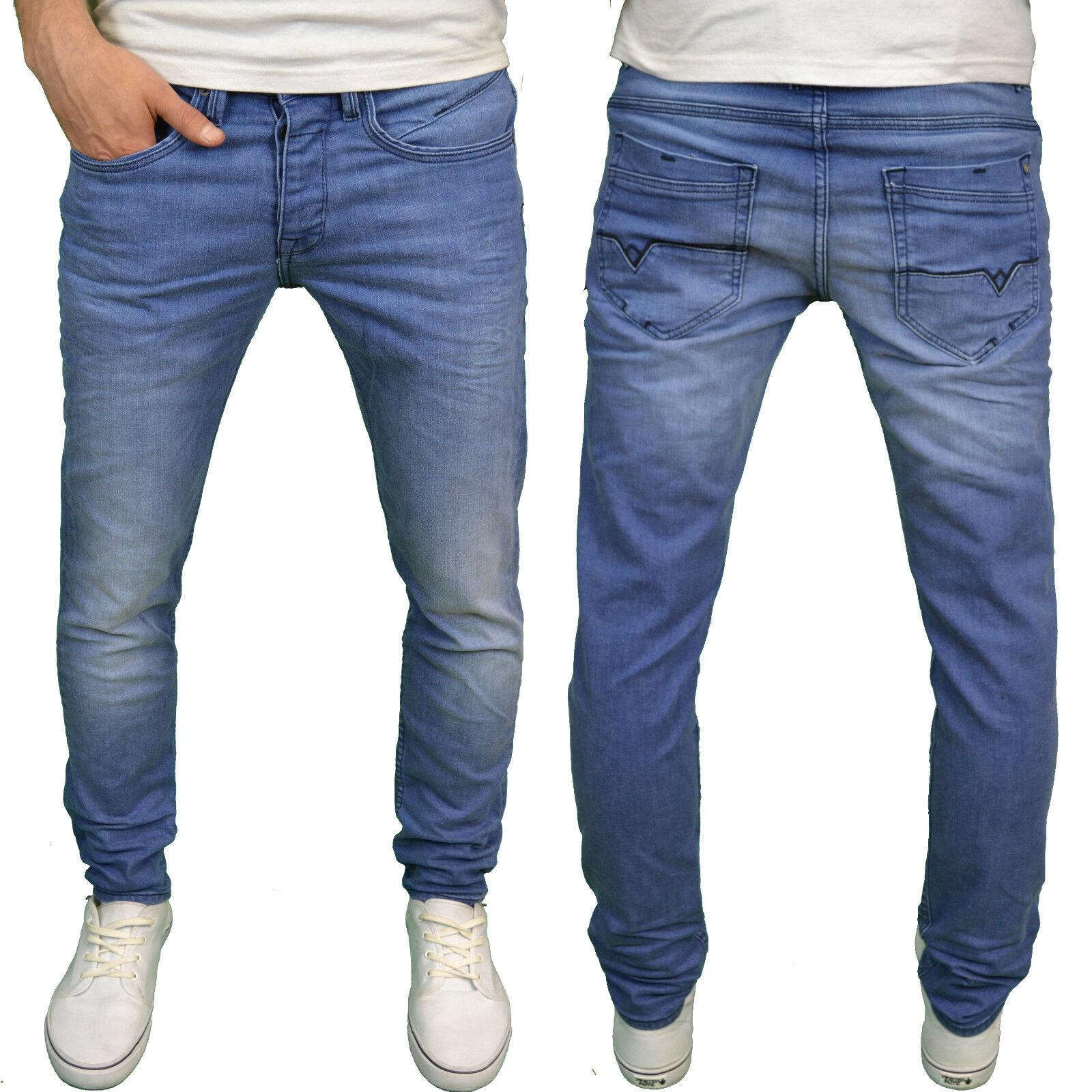 Voi Herren Designer Marke Stretch kegelförmig Mitte blau Jeans, neu mit Etikett  | Sale Online  | Deutschland Frankfurt  | Zürich