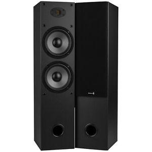 Dayton-Audio-T652-AIR-Dual-6-1-2-034-2-Way-Tower-Speaker-Pair-with-AMT-Tweeter