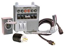 Generac 30 Amp Pre Wired 6 Circuit Manual Transfer Switch: Generac 6294 30-Amp 6-10 Circuit Manual Transfer Switch Kit for rh:ebay.com,Design