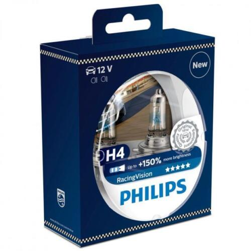 2 AMPOULE H4 NEW 150/% PHILIPS Racing Vision DODGE NITRO