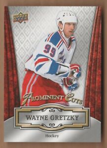 Details About Wayne Gretzky 2016 Upper Deck Promo National Convention Prominent Cuts Rangers