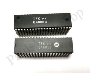 Video-Prozessor-U4606B-TFK-DIP40-NOS-BP
