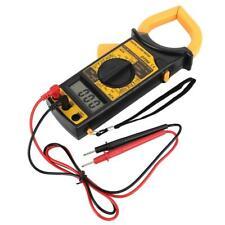 Dt266 Handheld Digital Clamp Meter Acdc Volt Amp Resistance Tester Multimeter