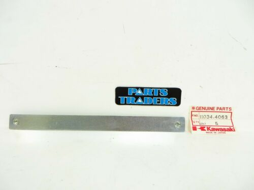 NOS Genuine Kawasaki Flap Bracket 11034-4063 Duckster KLT110 KLT200 KLT250