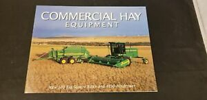 Details about 1997 John Deere Commercial Hay Equipment 100 Big Square Baler  & 4890 Windrower