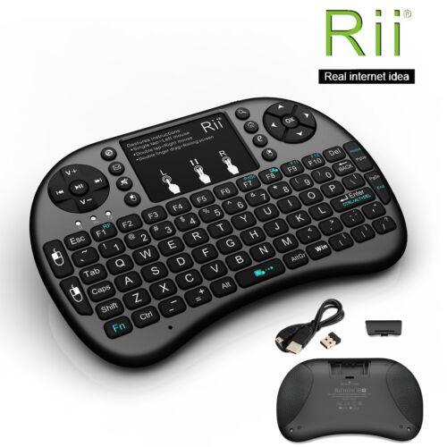 Wireless Mini Keyboard Mouse Touchpad with Backlight for PC Smart TV PS4 Rii i8