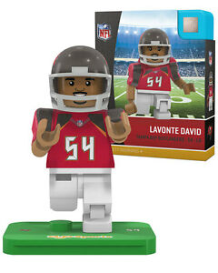 LAVONTE DAVID #54 TAMPA BAY BUCCANEERS OYO MINIFIGURE BRAND NEW FREE SHIPPING