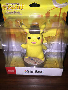 Detective-Pikachu-Nintendo-Amiibo-BRAND-NEW-IN-DISTRESSED-BOX-SEE-PHOTOS