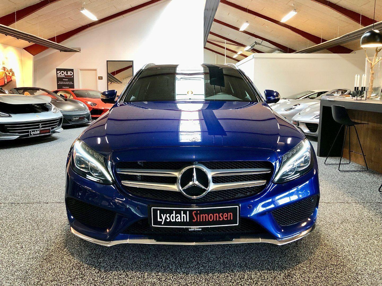 Mercedes C250 d 2,2 AMG Line stc. aut. 4-M 5d