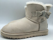 10E8 Ugg Australia Classic Mini Jackee Slip on Cozy  Boots Women Shoes Sz 8
