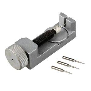 Entferner-Werkzeug-aendern-Armbanduhr-Silber-Metall-Pin-G6K7-VG