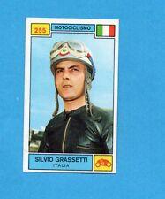 CAMPIONI SPORT 1969-70-PANINI-Figurina n.255- GRASSETTI -ITALIA-MOTOCICLISMO-Rec