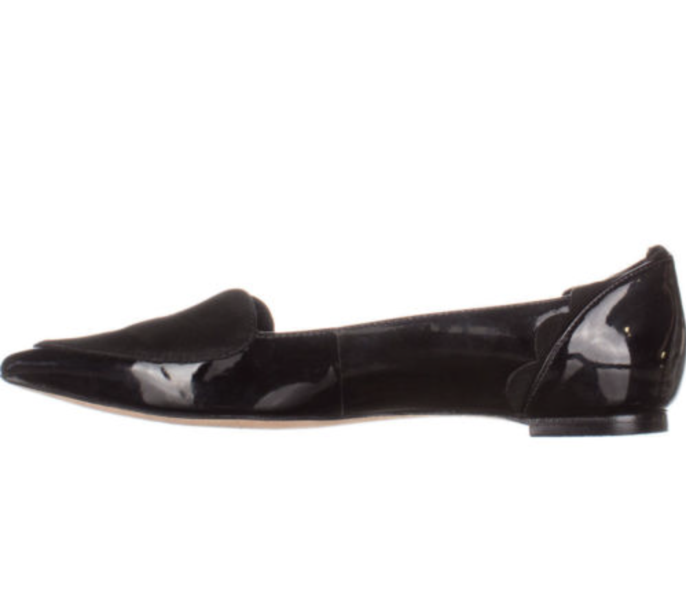 Isa Tapia Clement Heart Loafers 185, Black, 6.5 US US US   36.5 EU  094d17