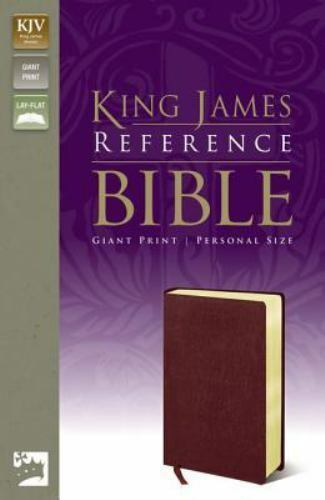 King James Giant Print Reference Bible Personal Size (King James Reference Line)