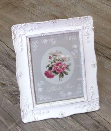Picture Frame Photo Frame Rectangular Off White Shabby Chic Frame Format 12x16 cm