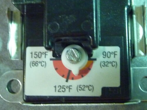 THERM-O-DISC 4090 LOWER THERMOSTAT 4 2 ELEMENT ELECTRIC WATER HEATER NEW FREE SH