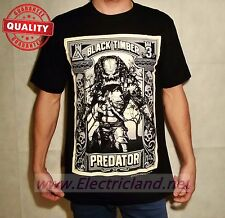 T-Shirt PREDATOR film Cult Size SMALL Black maglietta nera uomo man Schwarzenegg
