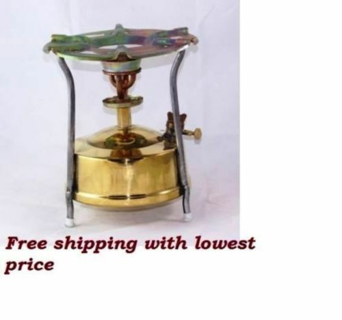 Brass Stove Kepinkne Stove Camping Hiking Home Outdoor 1.8 Litre with parts